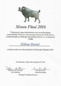 Black Ram of Savonlinna 2016