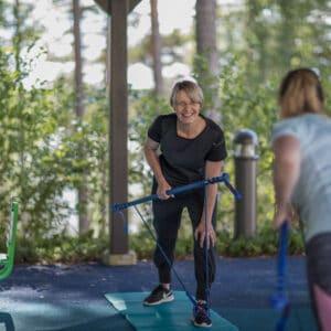Rehabilitation - Outdoor exercises