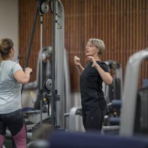 Instructor-guided rehabilitation exercises