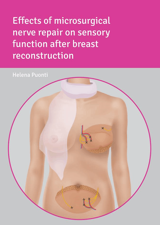 Thesis cover - Sensing breast reconstruction