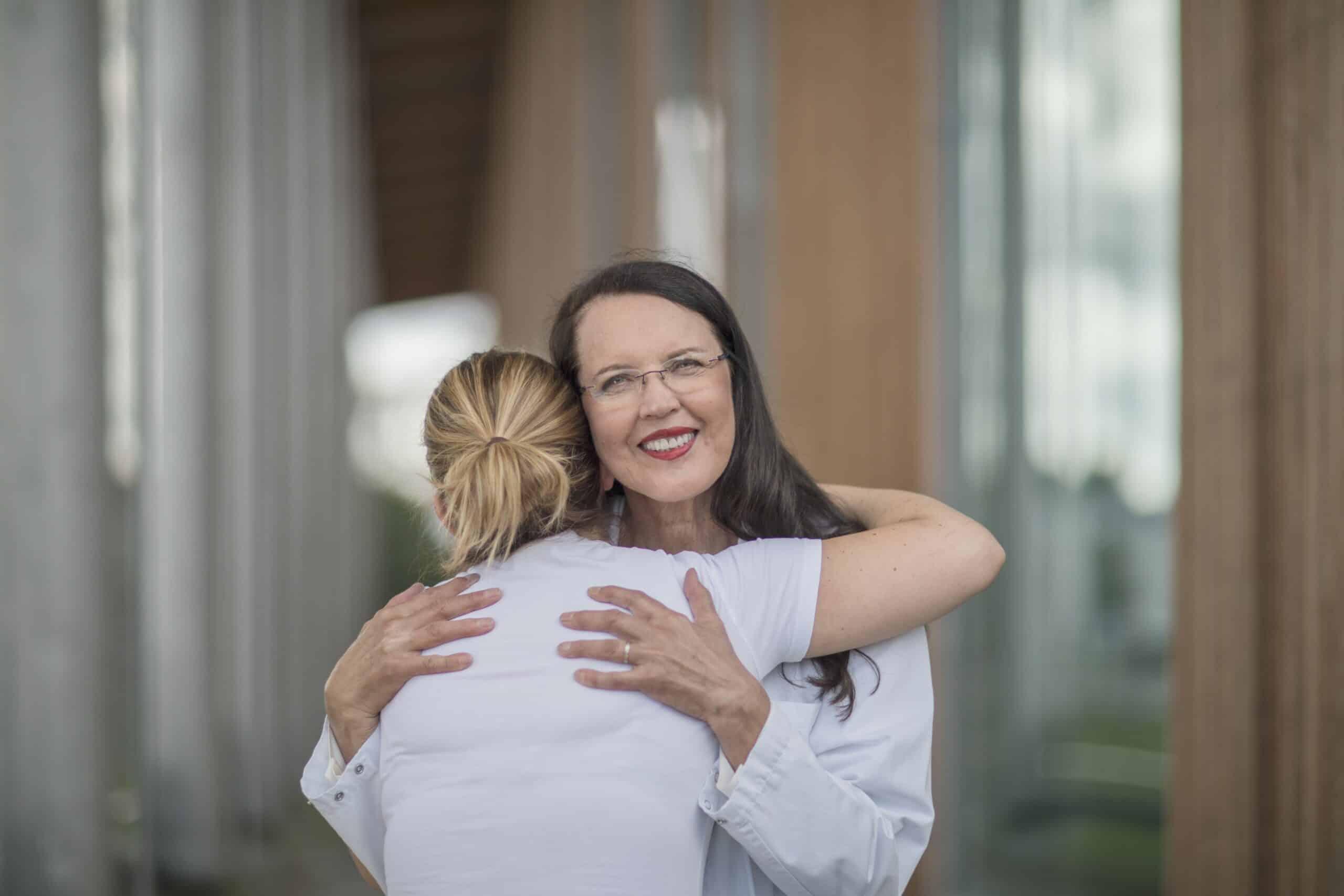 Helena hug