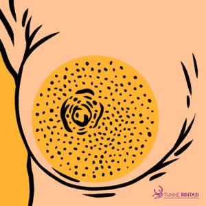Appelsiini iho rinnassa